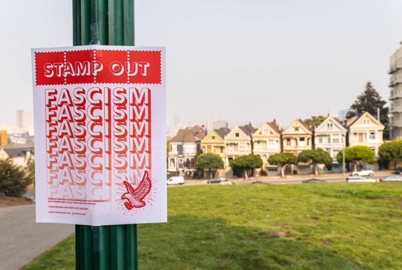 """""""Stamp Out"""", una protesta per garantire a tutti il diritto al voto"""
