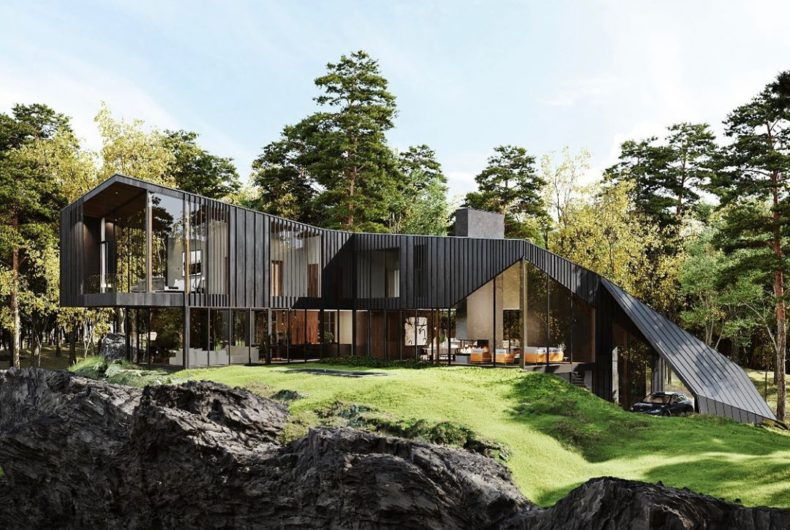 Sylvan Rock, the first residence built by Aston Martin