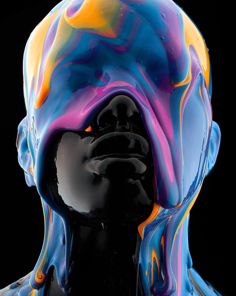 Black is a Color, i ritratti ipnotici di Tim Tadder   Collater.al