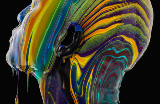 Black is a Color, hypnotic portraits by Tim Tadder