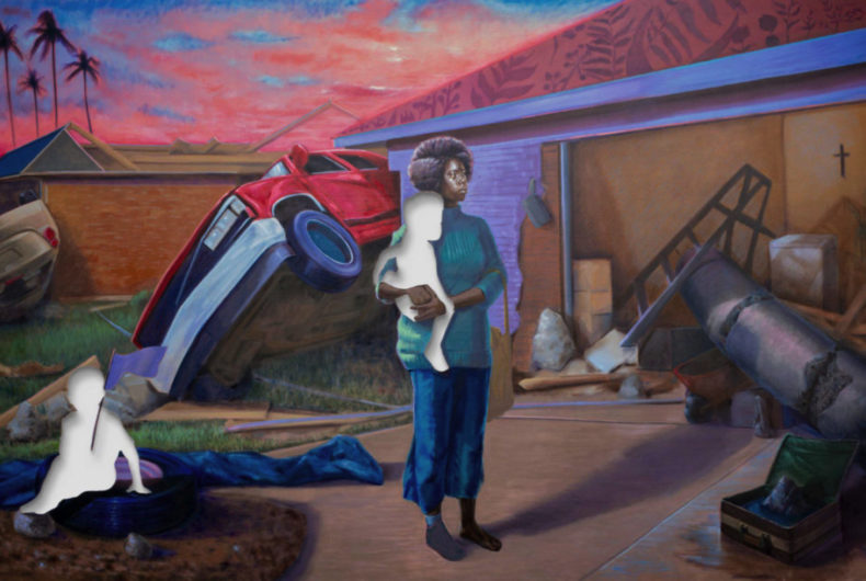 Titus Kaphar paints the biggest fear of African American mothers