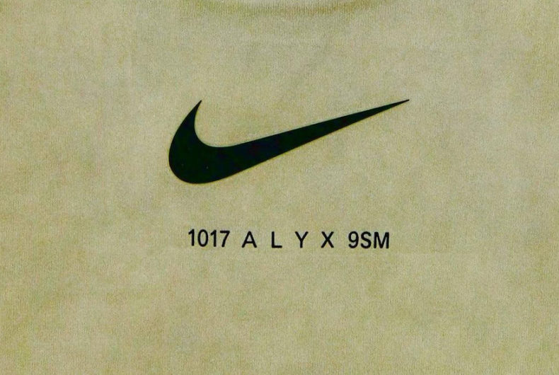 1017 ALYX 9SM and Nike present their capsule collection