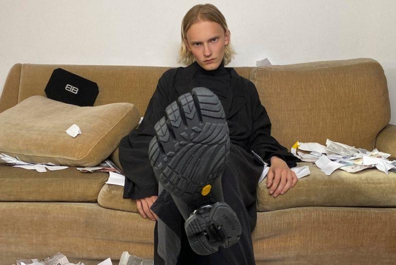 """""""Toe"""" collection, the Balenciaga and Vibram collaboration"""