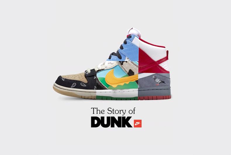 """""""The Story of Dunk"""", il documentario di Nike in 6 episodi"""