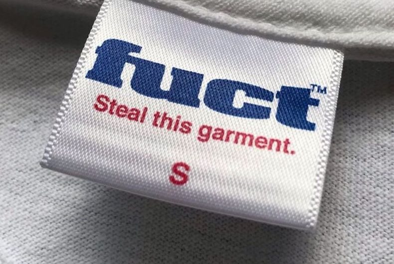 FUCT invited you to steal their T-shirts