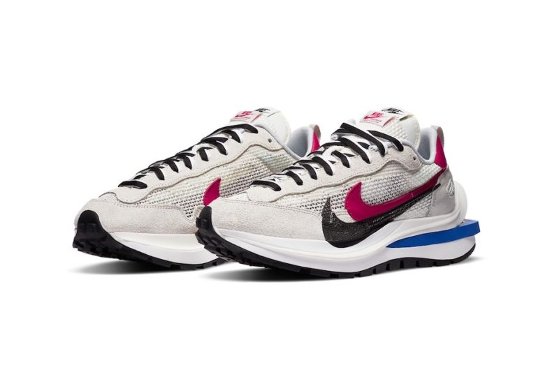 The new colorways of the sacai x Nike Vaporwaffle