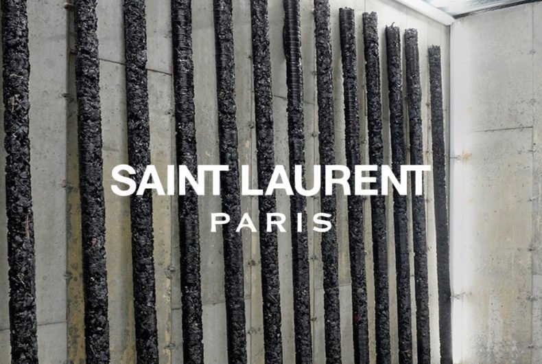 Helmut Lang e Saint Laurent, tra arte e moda