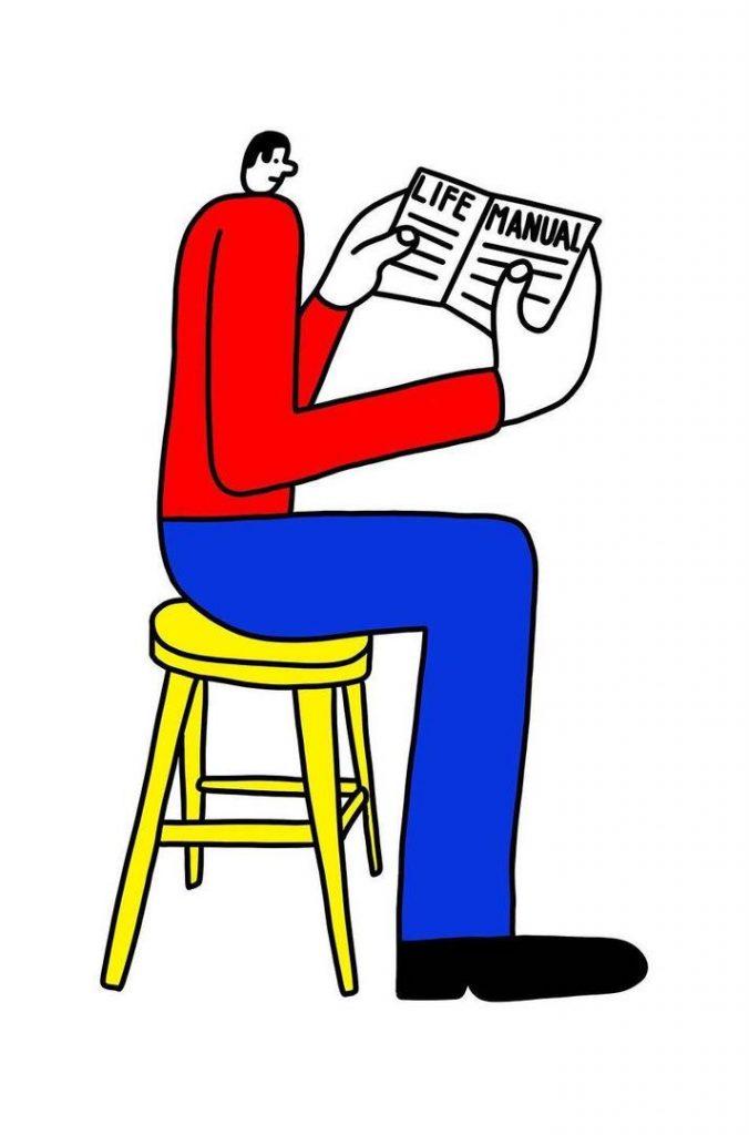 illustrazioni-semplici-lineari-kamil-lanch-collater.al