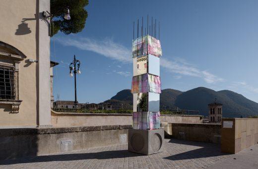 """""""Pila"""", l'opera di Alberonero per la città di Rieti"""
