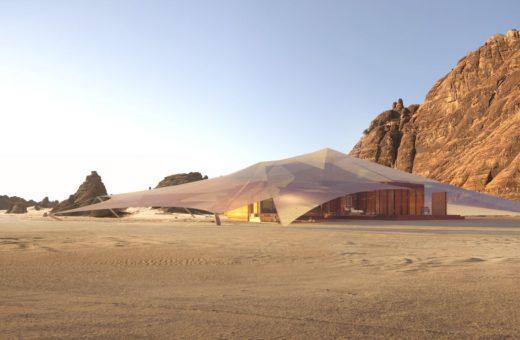 Ashar Tented, a luxury resort in the desert of Arabia