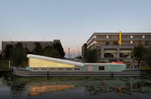 Genesis, a floating church near London