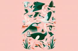 Le calde e delicate illustrazioni di Elen Winata