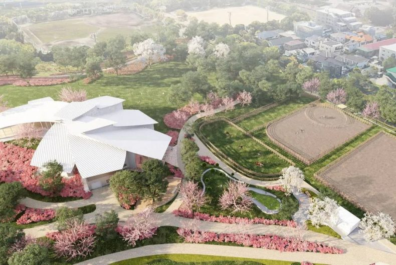 Kengo Kuma's museum inspired by Miyazaki's film