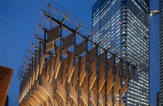 Kenzo Kuma's latest project in Harumi, Tokyo