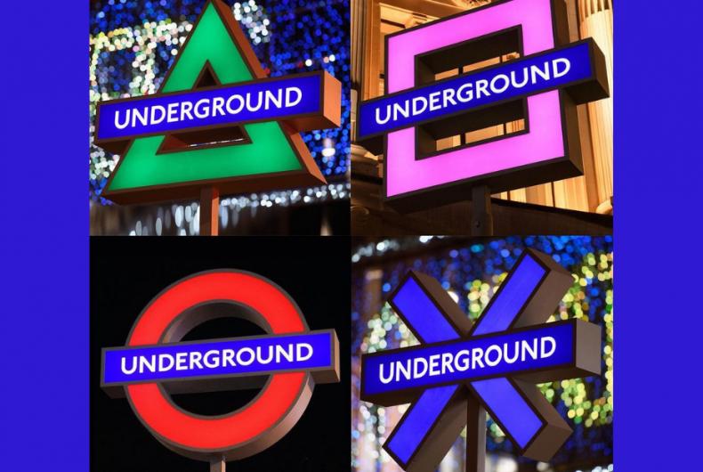 Sony illuminates St. Mark's Square and conquers the London Tube