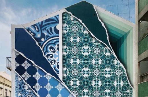 Add Fuel, lo street artist che trasforma gli azulejos in murales