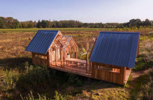 ANNA Cabin, the sliding house by Caspar Schols