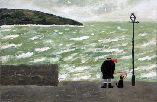 Art as therapy: Gary Bunt and his dog Bert