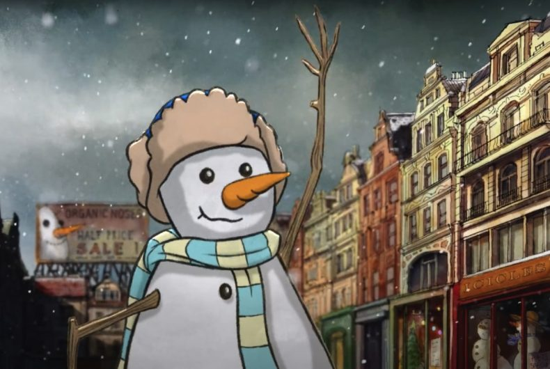 Lo spot natalizio di John Lewis & Partners, un mix di artisti