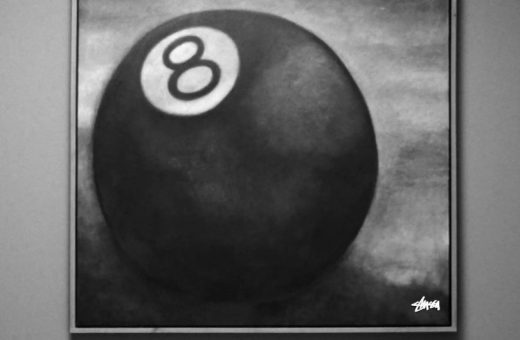 L'iconografia dell'iconica palla 8 di Stüssy