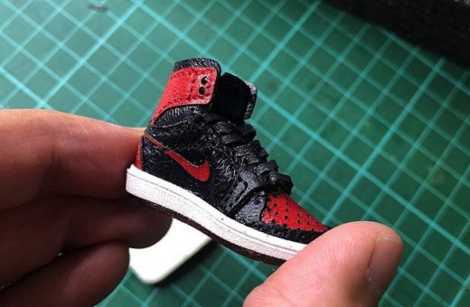 Chris Pin's miniature sneakers