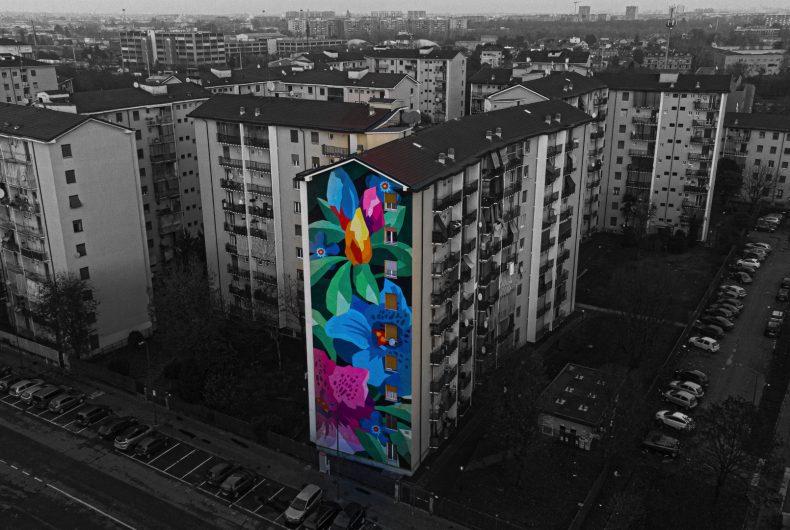 Silvio Tova fotografa dall'alto la periferia di Milano