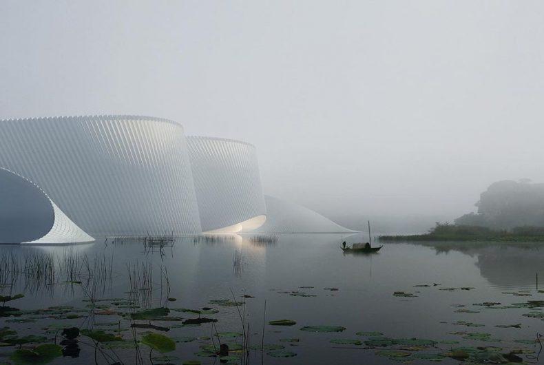 """""""Delta"""", il nuovo museo di storia naturale di Shenzhen"""