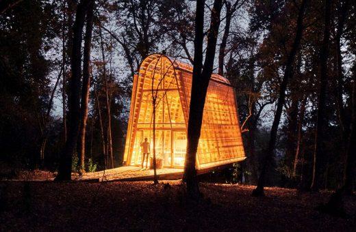 La Invernadera, la casa nella foresta cilena