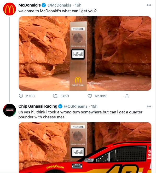 McDonald's turns the monolith into a Drive-Thru | Collater.al
