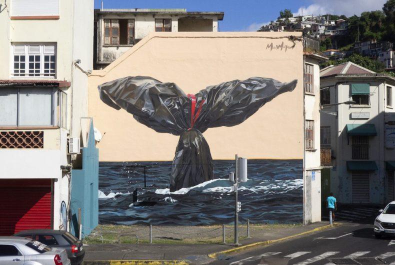 """""""Garbage Tail"""", l'artwork di Murmure Street per gli oceani"""