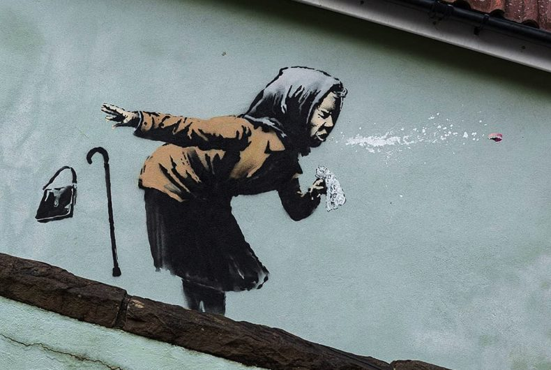 The new Banksy appeared in Bristol