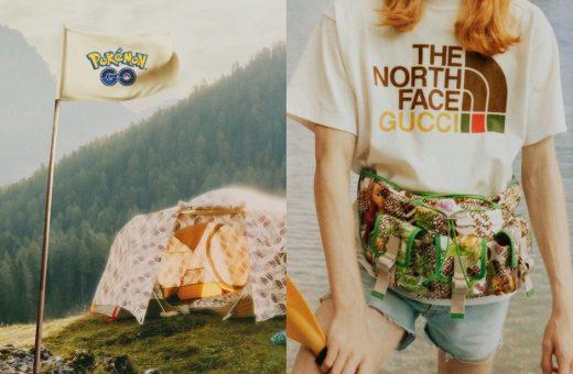 La collaborazione tra Pokémon GO e The North Face x Gucci