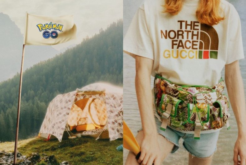 La collaborazione tra Pokémon GO e The North Face x Gucci