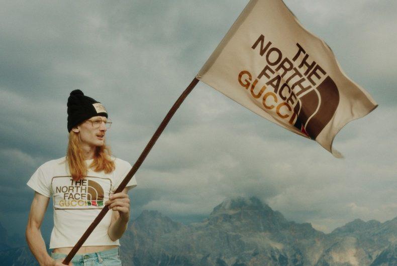 Gucci e The North Face hanno presentato la loro collezione