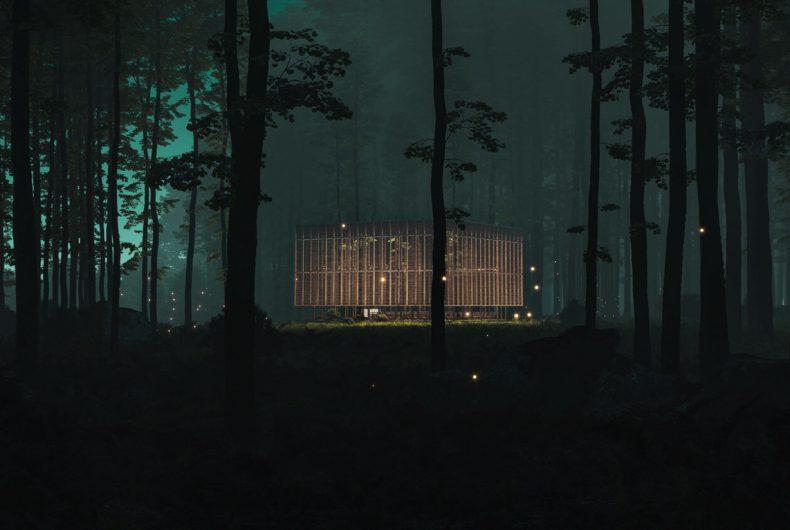 Earth Chapel, una nuova idea di luogo sacro