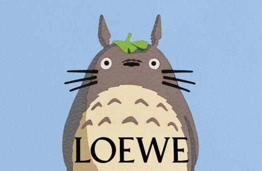 """LOEWE annuncia una collaborazione con """"Il mio vicino Totoro"""""""
