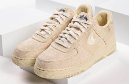 Le nuove Stüssy x Nike Air Force 1 Low