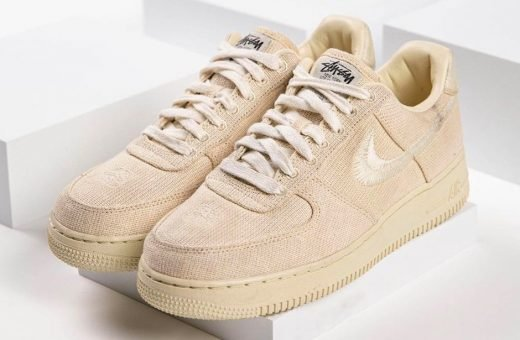 The new Stüssy x Nike Air Force 1 Low