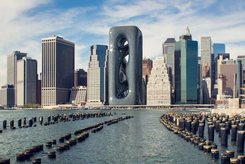 The beautiful skyscraper by studio Hayri Atak for New York City