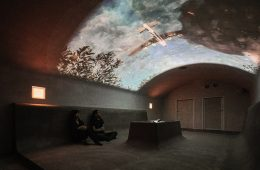 Hiddenscape, two bunkers transformed into war exhibitions