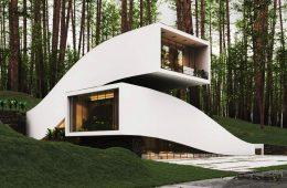 Landscape House, the project of Milad Eshtiyaghi