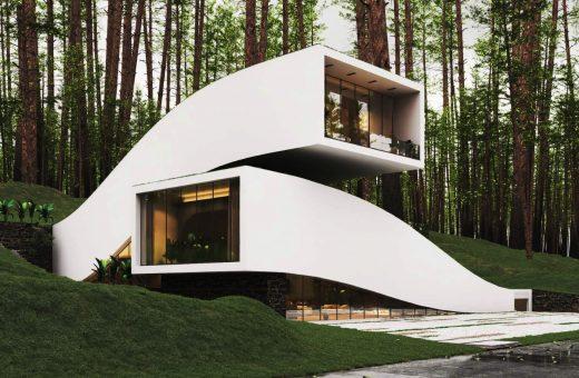 Landscape House, il progetto di Milad Eshtiyaghi