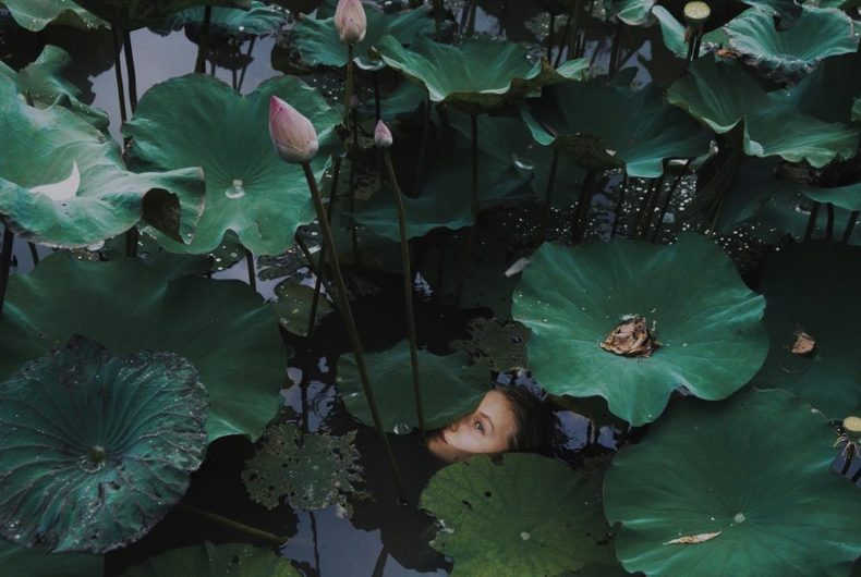 Subacquee e sensuali, le fotografie di Natalie Karpushenko