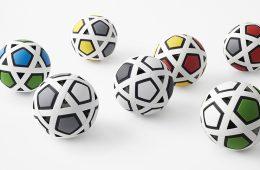 """My Football Kit"", the futuristic ball by studio Nendo"