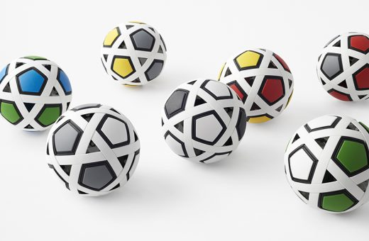 """My Football Kit"", the futuristic ball by studio Nendo"