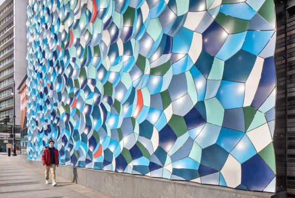 Olafur Eliasson ha modificato la facciata della Willis Tower