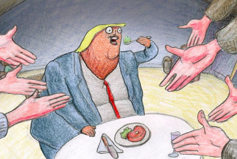 TRUMP BITES, la serie animata su Donald Trump