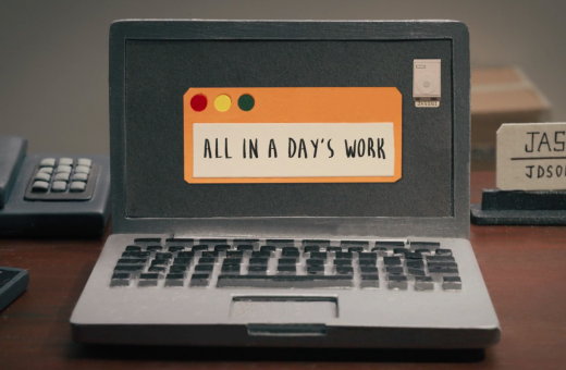 """All in a Day's Work"" the new animated series by Siqi Song and Buck"
