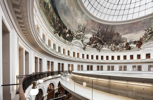 Il museo firmato Tadao Ando nella Bourse de Commerce