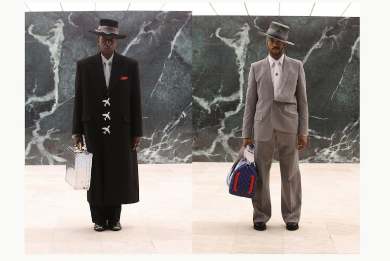La FW21 di Louis Vuitton critica la società e i suoi archetipi